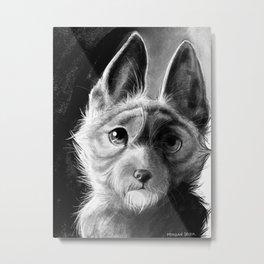 Roscoe-Roo Metal Print