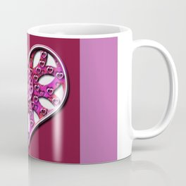 Raise Heart Valentine Coffee Mug
