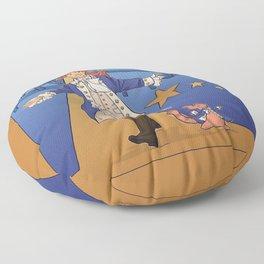 February Floor Pillow
