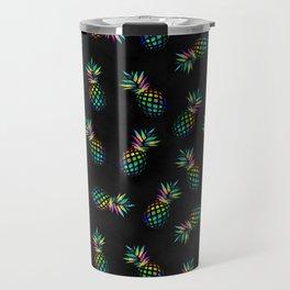Iridescent pineapples Travel Mug