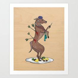 Animal Poverty I Art Print