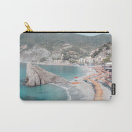 Cinque Terre Beach 2 Carry-All Pouch