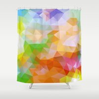 candy Shower Curtains featuring Candy by Veronika