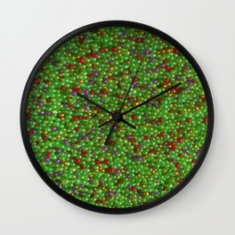 Goji and Gold Wall Clock