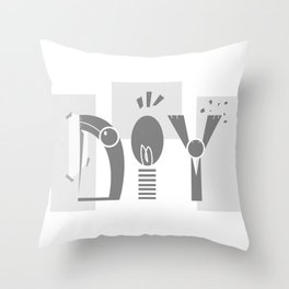Do It Yourself Throw Pillow