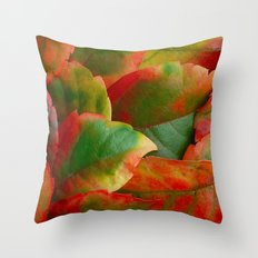 Autumn the artist Throw Pillow