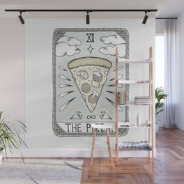 The Pizza Wall Mural