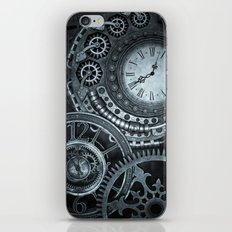 Silver Steampunk Clockwork iPhone & iPod Skin