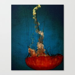 Under The Mystic Sea Canvas Print