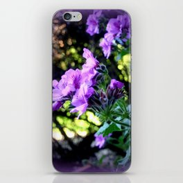 Geranium iPhone Skin