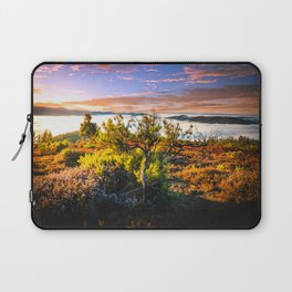 morning lights in the Basque mountains Laptop Sleeve