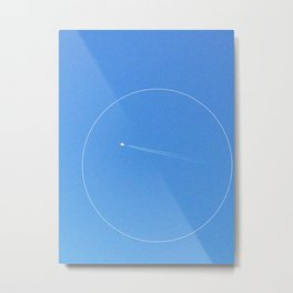 circle plane Metal Print