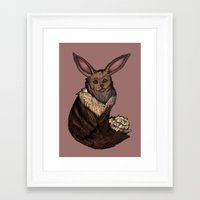 eevee Framed Art Prints featuring Eevee by Papa-Paparazzi