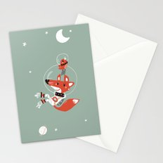 Space Fox Stationery Cards