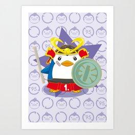 N°1 - Samurai Art Print