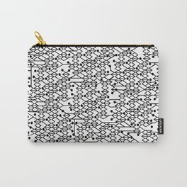 Microchip Pattern Carry-All Pouch