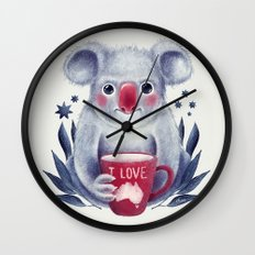 I♥Australia Wall Clock