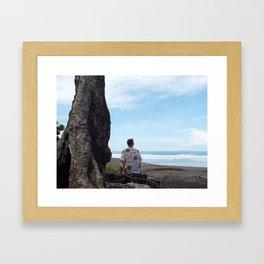 Jaco Beach, Costa Rica Framed Art Print