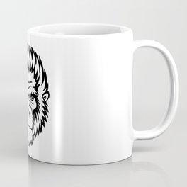 Gorilla Monkey Head Gift Idea Design Motif Coffee Mug