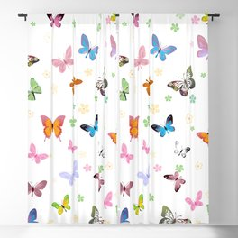 Butterfly 31 Blackout Curtain