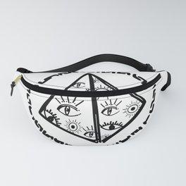 Piramid of eyes Fanny Pack