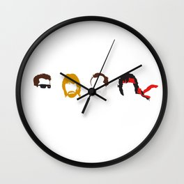 Action Hair Wall Clock