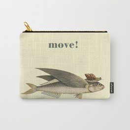 Keep moving Carry-All Pouch
