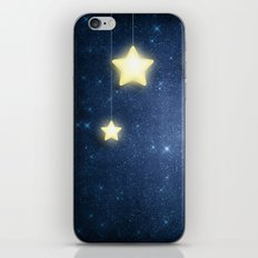 Moon & Stars 04 iPhone & iPod Skin