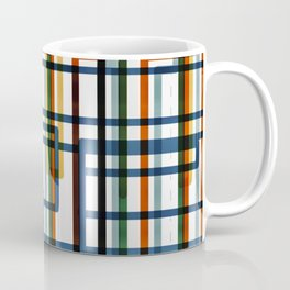 Abstract Lines - 5 Line Metro Map Coffee Mug