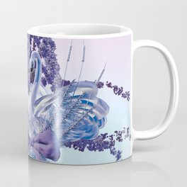 romantic swan couple Coffee Mug