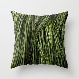 Tall Grass Throw Pillow