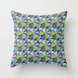 Geometry is the way Throw Pillow