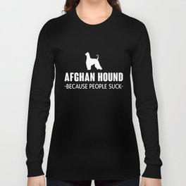 Afghan Hound gift t-shirt for dog lovers Long Sleeve T-shirt