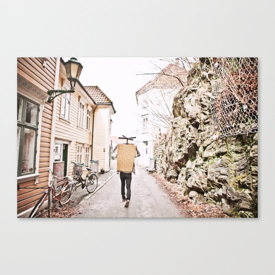 Alleyways Canvas Print