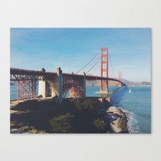 Golden Gate Bridge.  Canvas Print