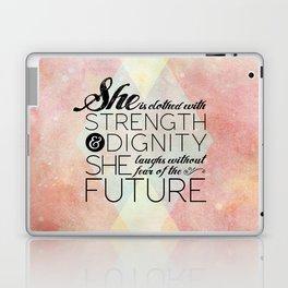 Proverbs 31 She is...  Laptop & iPad Skin