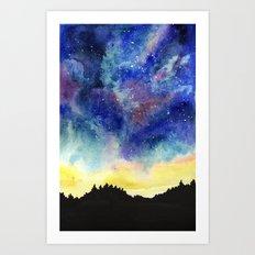 Starry Sky Art Print
