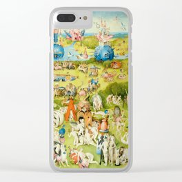 The Garden of Earthly Delights by Bosch Clear iPhone Case