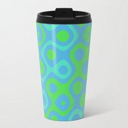 Brain Coral Green Banded - Coral Ree Series 020 Travel Mug