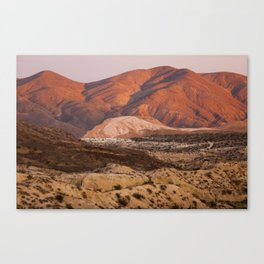 The Pinkest Sunset (Red Rock State Park, California) Canvas Print