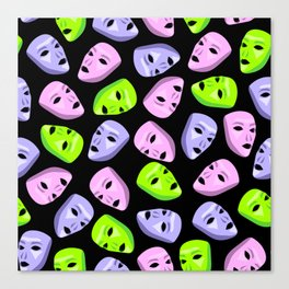 Masks I Canvas Print