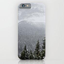 Pine Trees | Mountains | Alberta | Canada | Landscape iPhone Case