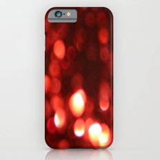 Red Blurred Lights iPhone 6s Slim Case