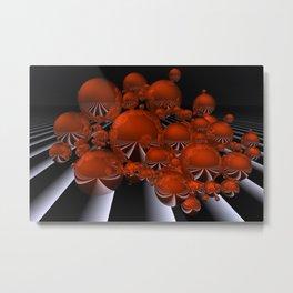 spheres and stripes -04- Metal Print