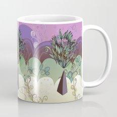 Flower Stone landscape Mug