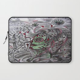 Rock Of Ages In The Gulf of Mexico. Laptop Sleeve