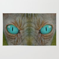 sphynx Area & Throw Rugs featuring Sphynx Stare by Bruce Stanfield