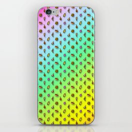 Snack Storm Rainbow Variant iPhone Skin