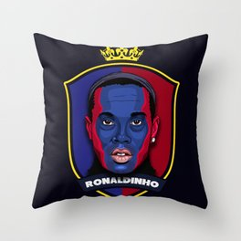 Ronaldinho Throw Pillow