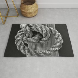 Knot A Rope Knot Rug